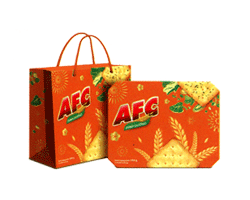 Bánh Cracker AFC 375g