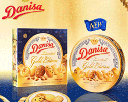 Bánh Danisa Gold Edition